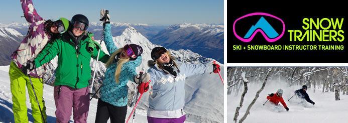 Ski Instructor Training Courses & Jobs Worldwide