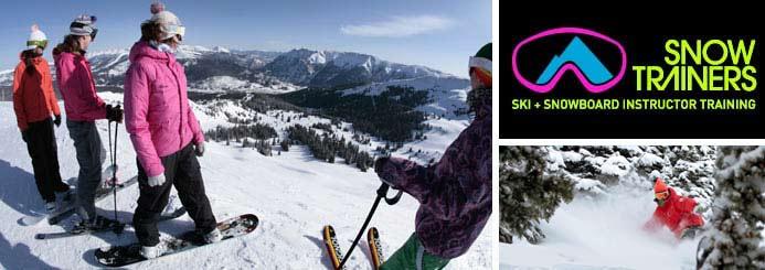 Ski and snowboard instructor paid internships