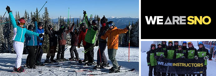 ski jobs with WE ARE SNO