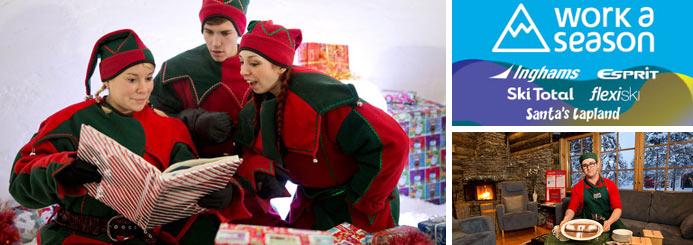 Santa's Lapland Positions